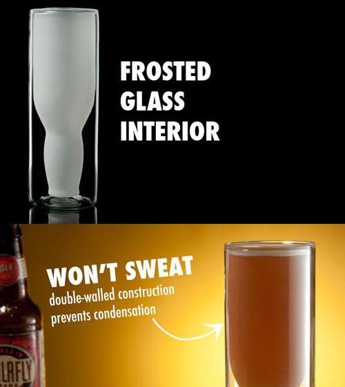 Australian Upside Down Beer Glass