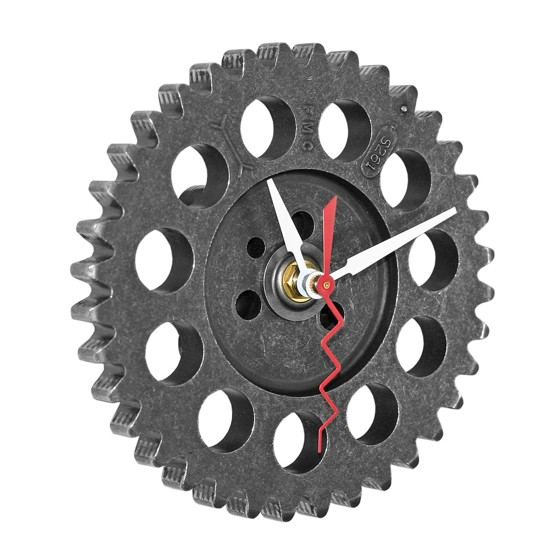 Auto Timing Gear Wall Clock