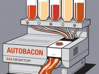 Autobacon t-shirt