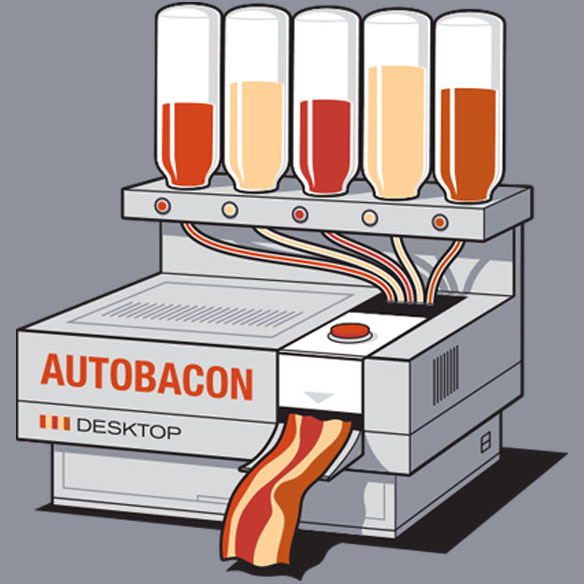 Autobacon t-shirt