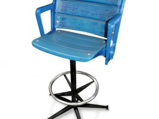 Autographed Authentic Yankee Stadium Seat Barstool