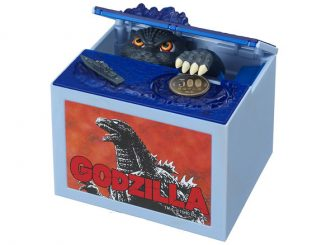 Automated Godzilla Money Box