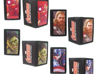 Avengers 2 Age of Ultron 3-D Wallet Case