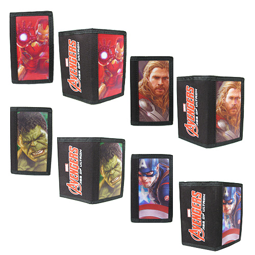 Avengers 2 Age of Ultron 3-D Wallet Case