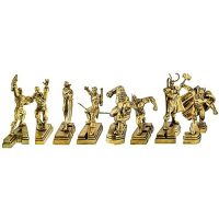 Avengers 8-Piece Golden Special Edition Paperweight Set