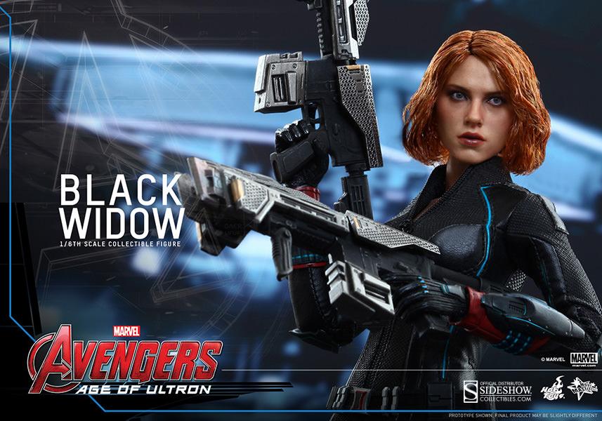 Black Widow Age Ultron: Avengers: Age Of Ultron Black Widow Sixth-Scale Figure
