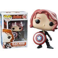 Avengers Age of Ultron Black Widow with Shield Pop Vinyl Figure