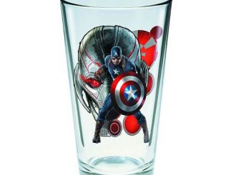 Avengers Age of Ultron Captain America 16 oz. Pint Glass