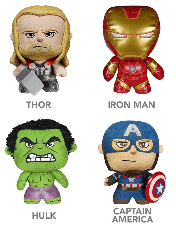 Avengers Age of Ultron Fabrikations Plush