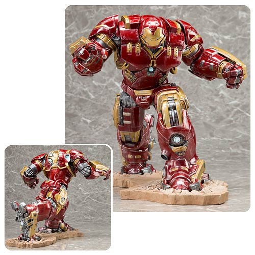 Avengers Age Of Ultron Hulk Buster Iron Man Mark 44 Artfx