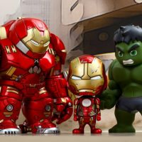 Avengers Age of Ultron Hulk vs Hulkbuster Cosbaby Collectible