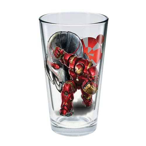 Avengers Age of Ultron Hulkbuster 16 oz. Pint Glass