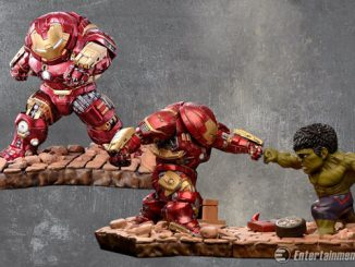 Avengers Age of Ultron Hulkbuster Egg Attack Statues