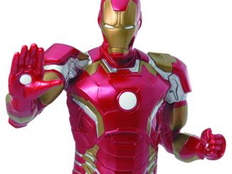 Avengers Age of Ultron Iron Man Bust Bank