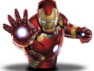 Avengers Age of Ultron Iron Man Light-Up Bust Bank