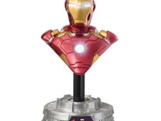 Avengers Age of Ultron Iron Man Light-Up Resin Bust Paperweight