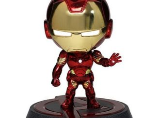 Avengers Age of Ultron Iron Man Mark 43 Chrome Hero Remix Bobble Head
