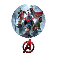 Avengers Age of Ultron Pendulum Wall Clock