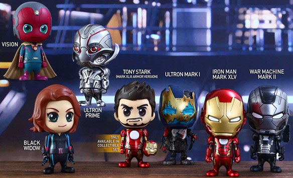 Avengers Age of Ultron Series 2 Cosbaby Collectible Set