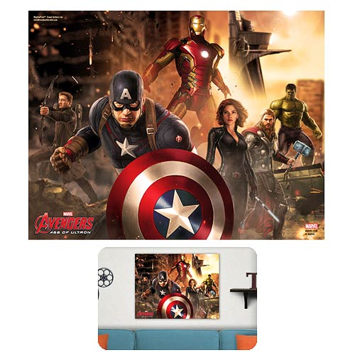 Avengers Age of Ultron Time to Avenge MightyPrint Wall Art Print