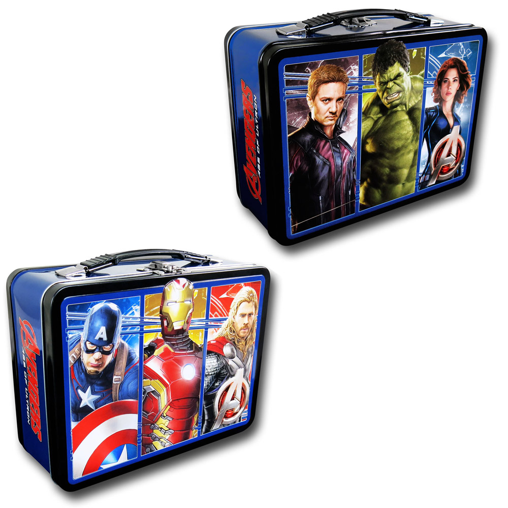 Avengers Age of Ultron Tin Lunch Box