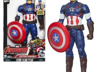 Avengers Age of Ultron Titan Hero Tech Interactive Electronic Captain America Action Figure