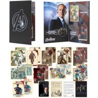 Avengers Agent Coulson's Vintage Captain America Trading Card Set
