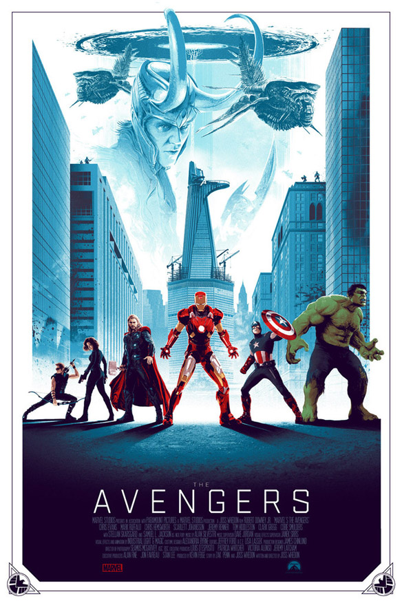 Avengers Art Print by Matt Ferguson