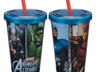 Avengers Assemble 12 oz. Acrylic Travel Cup