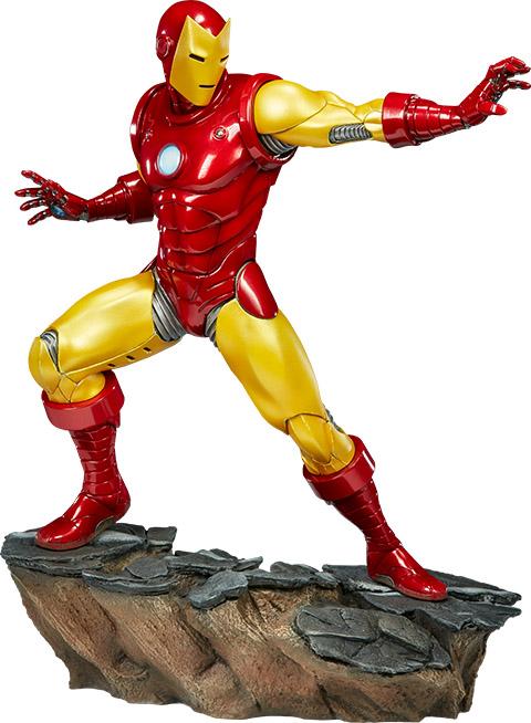 avengers-assemble-iron-man-statue