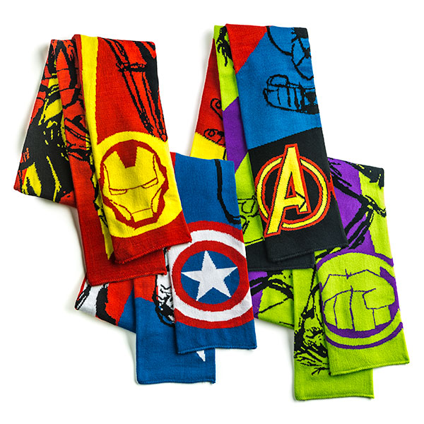 Marvel Comics Avengers Assemble Scarves