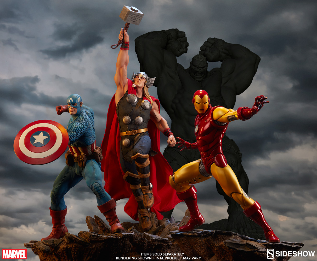 Avengers Assemble Thor Statue