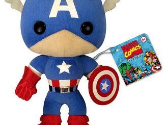 Avengers Captain America 7-Inch Plush