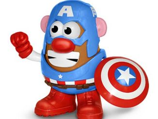 Avengers Captain America Marvel Comics Mr. Potato Head