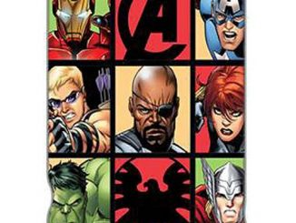 Avengers Grid Throw Blanket
