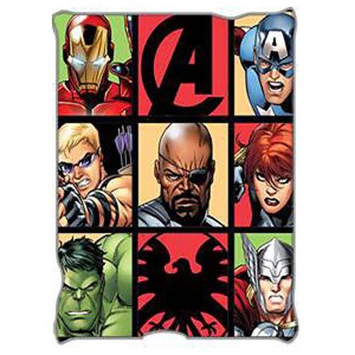 Avengers Grid Throw Blanket