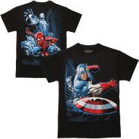 Avengers Group Break Two-Sided T-Shirt