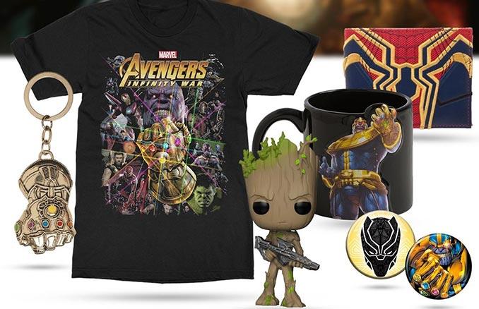 Avengers Infinity War Edition Mystery Box d925b2da9d88
