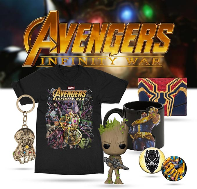 Avengers Infinity War Edition Mystery Box