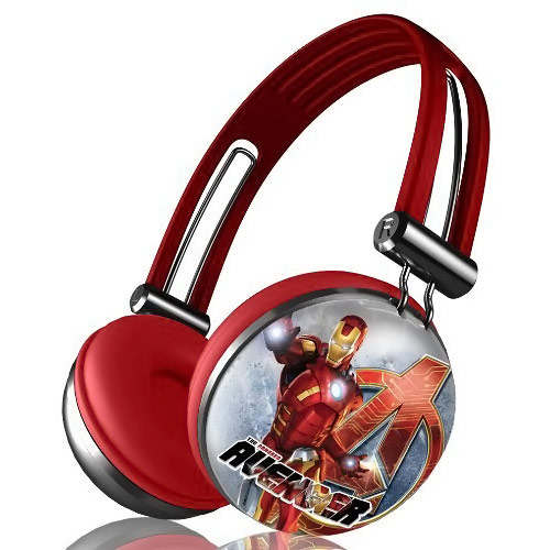 Avengers Iron Man Headphones