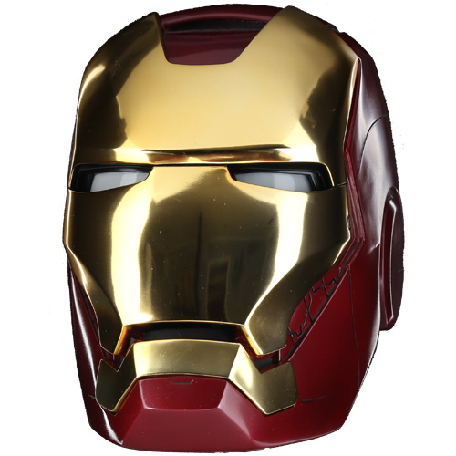 4456acb36 You'll still need the rest of the suit but the Avengers Iron Man Mark VII  Helmet Prop Replica lets you feel a little bit like Tony Stark.