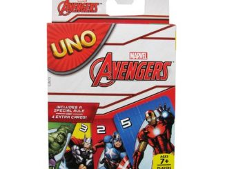 Avengers Marvel UNO Card Game