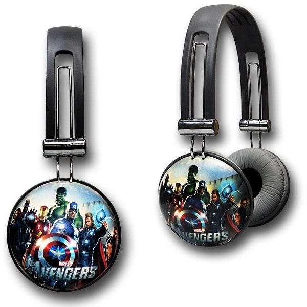 Avengers Movie DJ Style Headphones