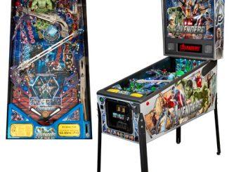 Avengers Movie Full-Size Premium Pinball Machine
