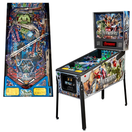 Avengers Movie Full-Size Premium Pinball Machine