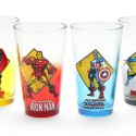 Avengers Pint Glass Set