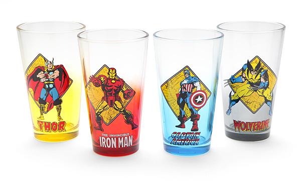 Avengers Pint Glass Set