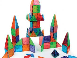Award-Winning Magnetic Tile Building Set