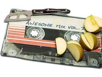 Awesome Mix Vol. 2 Cutting Board