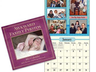 Awkward Family Photos 2015 Wall Calendar
